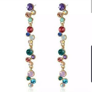 🌈🌟Rainbow Dangling Earrings